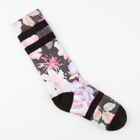 Stance Garden Punk Womens Crew Socks Multi One Size For Women 25252195701