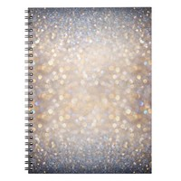Glimmer of Light (Ombré Glitter Abstract) Notebook