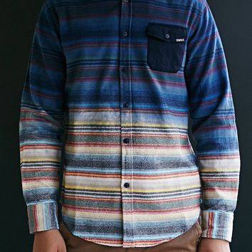 Staple Andres Dip Dye Button-Down Shirt  Urban Outfitters