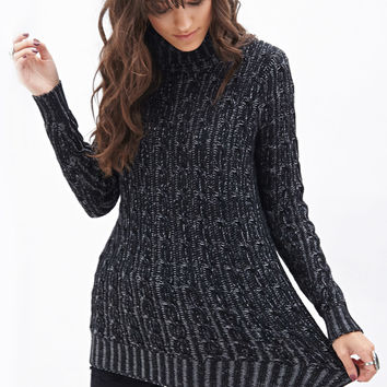 Knit Turtle Neck Sweater