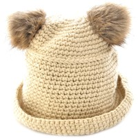 Solid Thermal Pompons Fisherman Hat - OASAP.com