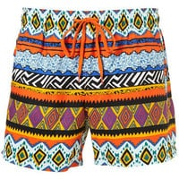 Multi Colour Pattern Swim Shorts - New Clothing  - New In