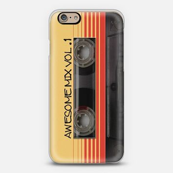 Awesome Mix Vol. 1 iPhone 6 case by Nicklas Gustafsson | Casetify
