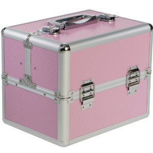 Beauty-Boxes St Tropez Pink Cosmetics and Make-up Beauty Case