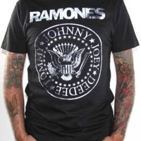 The Ramones T-Shirt - Distressed Seal