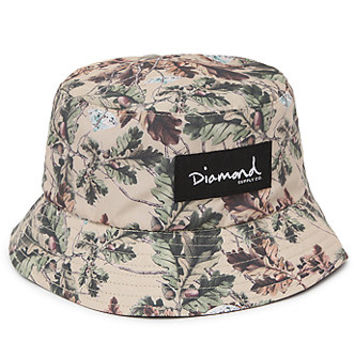 Diamond Supply Co Diamond Leaf Camo Reversible Bucket Hat