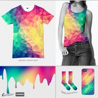 Modern Polygon Acid Test on Threadless