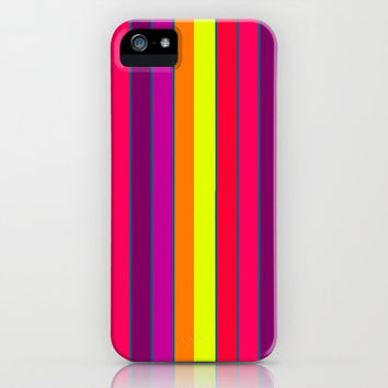 Long Happy Stripes #2 co.1 iPhone & iPod Case by 2sweet4words Designs   Society6