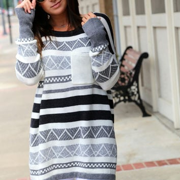 Color Me Gray Sweater
