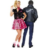 50's Sock Hop Couples Costumes
