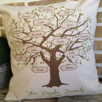 Family Tree Pillow » Craftori