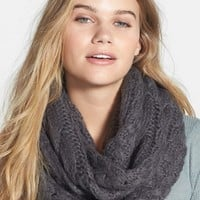 BP. Cable Knit Infinity Scarf (Juniors) | Nordstrom