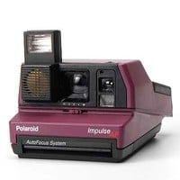 Impossible Vintage Impulse Purple Polaroid Instant Camera Set - Urban Outfitters