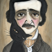 Edgar Allan Poe and the Black Cat » Craftori