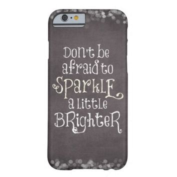 Inspirational Sparkle Quote