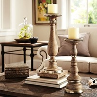 THEROUX CANDLE HOLDERS