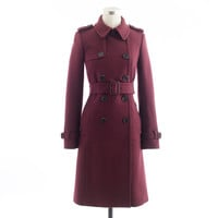 ICON TRENCH IN WOOL-CASHMERE