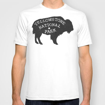 Yellowstone T-shirt by Terry Fan | Society6