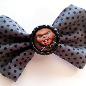 Chucky Childs Play Hair Bow
