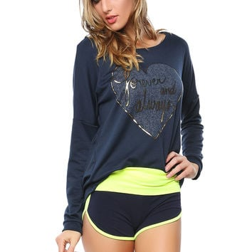 Papaya Clothing Online  FOREVER AND ALWAYS GRAPHIC TOP