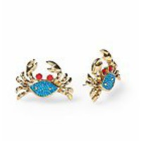 Betsey Johnson Crab Stud Earring | Piperlime