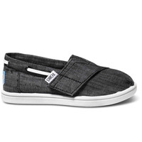 BLACK CHAMBRAY TINY TOMS BIMINIS