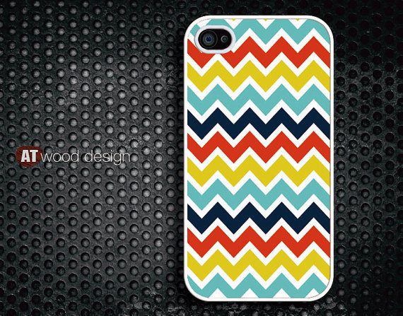 unique iphone 4 cases iphone 4s case iphone 4 cover colorized line red blue yellow colors design