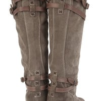 Frye Jane suede knee boots – 65% at THE OUTNET.COM