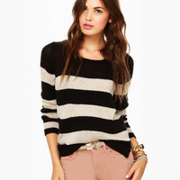 Olive &amp; Oak About Now Striped Sweater