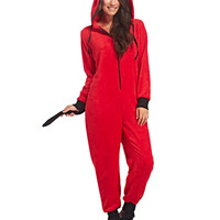 Little Devil Hooded Onesuit | Wet Seal