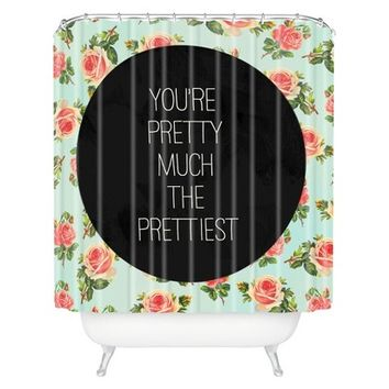 DENY Designs Pretty Much The Prettiest Shower Curtain
