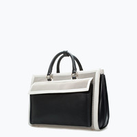 Perforated office city bag