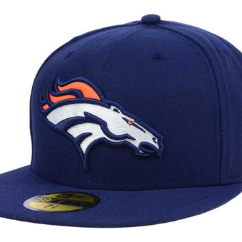 Denver Broncos NFL Official On Field 59FIFTY Cap
