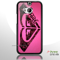 Roxy Surf Logo HTC One M8 Case
