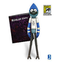 Exclusive San Diego Comic Con 2012 Regular Show 6 inch Figure - Mordecai