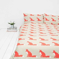Anorak Fox Double Duvet Cover - Urban Outfitters