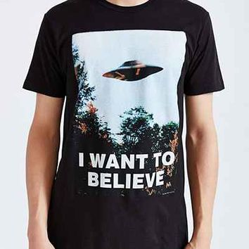 The X-Files I Want To Believe Tee  Urban Outfitters