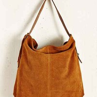 Kimchi Blue Suede Zip Lip Tote Bag - Urban Outfitters