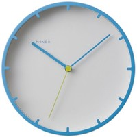 Tick Wall Clock in Blue - Pop! Gift Boutique