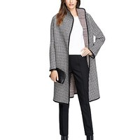 Wool Houndstooth Coat - Brooks Brothers