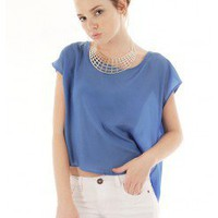CHIC OPEN BACK TOP @ KiwiLook fashion