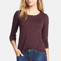 Feel the Piece 'Toni' Zip Back Long Sleeve Tee | Nordstrom