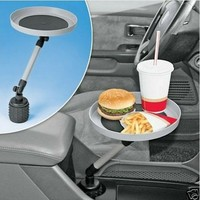 New Car Auto Swivel Mount Holder Travel Drink Cup Coffee Table Stand Food Tray