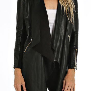 TRAVELING ACROSS THE COUNTRY BIKER JACKET