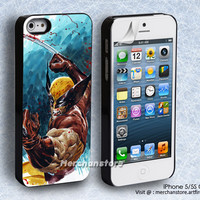 Wolverine Painting iPhone 5 or 5S Case