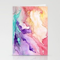 Color My World Stationery Cards by Rosie Brown | Society6