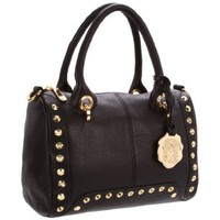 Vince Camuto Michelle VIN1063 Satchel,Black,One Size