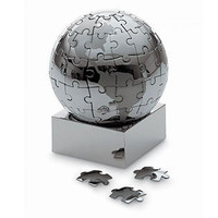 Magnetic Puzzle Globe - Small | Philippi | Rain Collection | Desktop Accessories