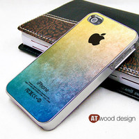 light silvery iphone 4 case iphone 4s case iphone 4 cover colorized texture  image unique design printing