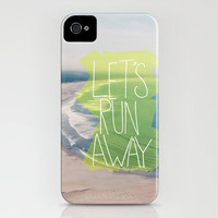 Let's Run Away XII iPhone Case by Leah Flores | Society6